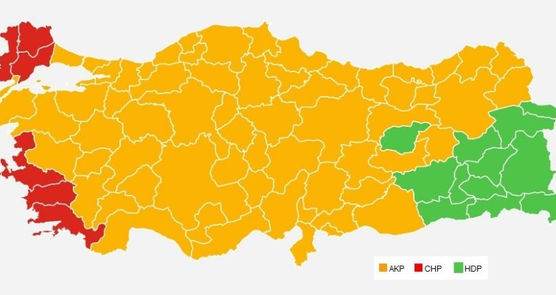 The Turkish Nation has maintained the level of trust for AK Party as the leading party